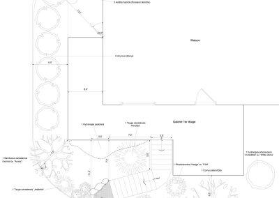 Conception d'aménagement paysager